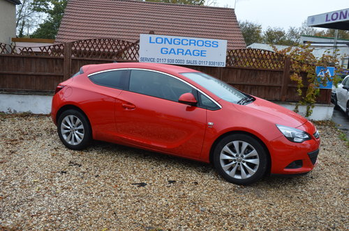 2016 Vauxhall Astra Gtc 2.0 CDTi SRi DIESEL AUTO COUPE For Sale (picture 3 of 6)