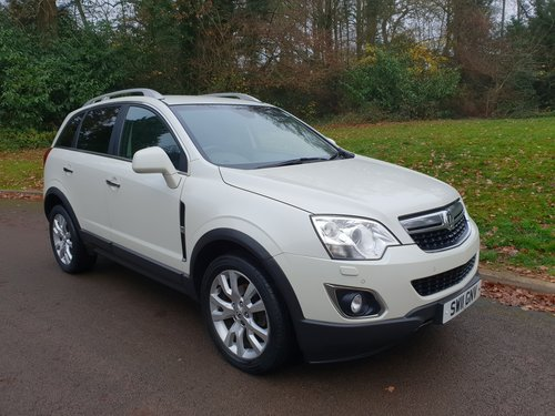 2011 Vauxhall Antara SE. 4X4. 2.2 CDTi. Hi Spec. Lovely Example. SOLD (picture 1 of 6)
