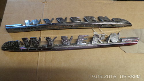 vauxhall wyvern badges For Sale (picture 2 of 2)