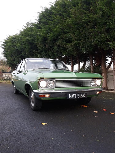 1972 Vauxhall Cresta PC For Sale (picture 1 of 6)