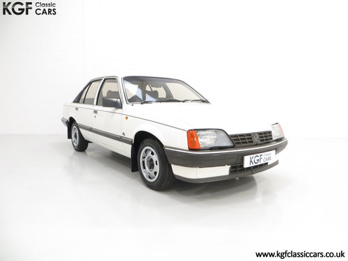 1986 A Surviving Vauxhall Carlton 2.2i GL (E2) with 14,851 Miles SOLD (picture 1 of 6)