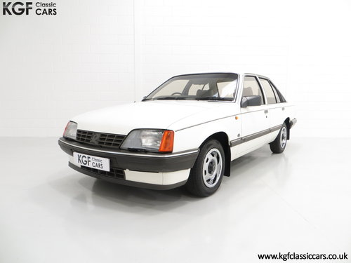 1986 A Surviving Vauxhall Carlton 2.2i GL (E2) with 14,851 Miles SOLD (picture 2 of 6)