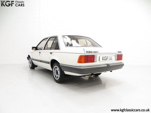 1986 A Surviving Vauxhall Carlton 2.2i GL (E2) with 14,851 Miles SOLD (picture 4 of 6)