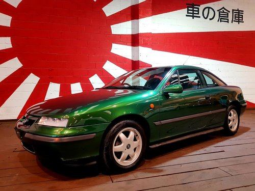 1996 VAUXHALL CALIBRA 2.0 16V AUTO COUPE * ONLY 32000 MILES *RARE For Sale (picture 1 of 6)