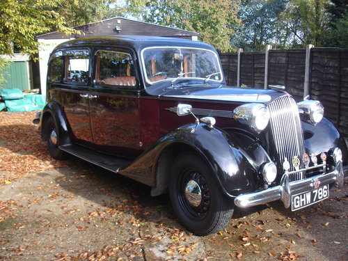 1939 Vauxhall Grosvenor Limousine SOLD (picture 1 of 5)