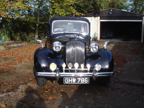 1939 Vauxhall Grosvenor Limousine SOLD (picture 2 of 5)