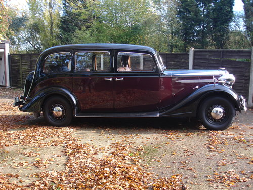 1939 Vauxhall Grosvenor Limousine SOLD (picture 3 of 5)