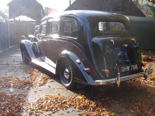 1939 Vauxhall Grosvenor Limousine SOLD (picture 4 of 5)