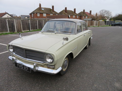 1963 Vauxhall Victor Delux...Deposit now taken SOLD (picture 2 of 6)