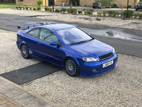 2002 Vauxhall Astra Triple 8 Limited Edition For Sale (picture 1 of 6)
