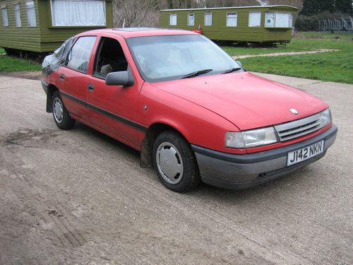1991 Vauxhall Cavalier For Sale (picture 1 of 3)