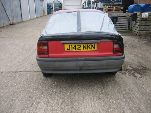 1991 Vauxhall Cavalier For Sale (picture 3 of 3)