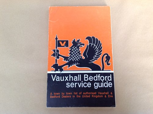 Vauxhall Bedford Service Guide  For Sale (picture 1 of 2)