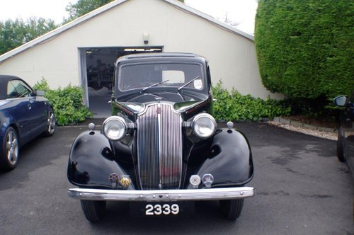 1937 Vauxhall DX 14/6 Very Good Condition SOLD (picture 1 of 6)