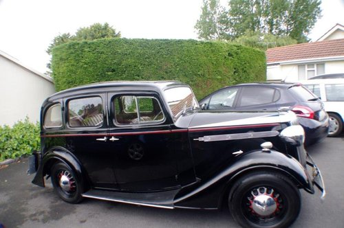 1937 Vauxhall DX 14/6 Very Good Condition SOLD (picture 2 of 6)