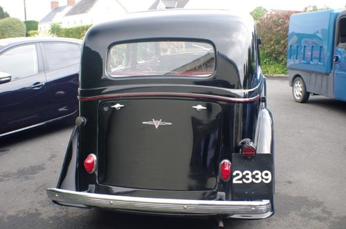 1937 Vauxhall DX 14/6 Very Good Condition SOLD (picture 3 of 6)