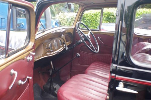 1937 Vauxhall DX 14/6 Very Good Condition SOLD (picture 4 of 6)