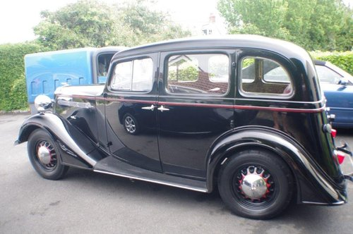 1937 Vauxhall DX 14/6 Very Good Condition SOLD (picture 6 of 6)