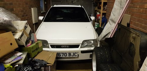 1988 Vauxhall Astra gte For Sale (picture 1 of 2)