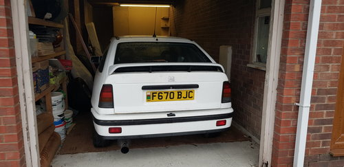 1988 Vauxhall Astra gte For Sale (picture 2 of 2)