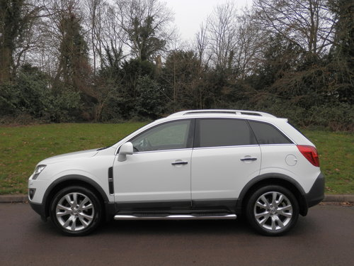 Vauxhall Antara SE NAV CDTi 4x4 Auto.. Top Spec.. Low Miles SOLD (picture 1 of 6)