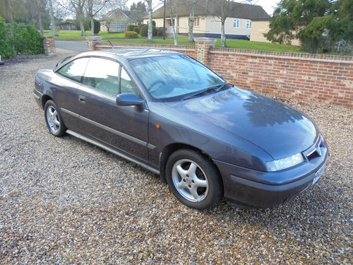 1997 Vauxhall Calibra 2.0 16V 1996 For Sale (picture 1 of 6)
