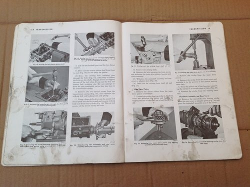 Vauxhall PA Training Book Gearbox Axle and Prop TS 589 For Sale (picture 3 of 3)