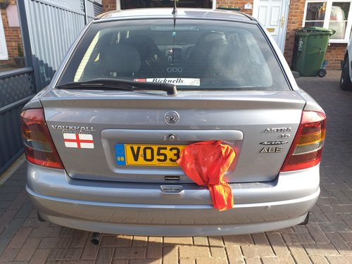 2003 Astra Active Limited Edition For Sale (picture 2 of 5)