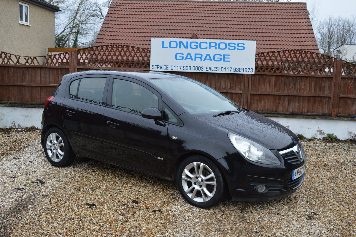 2008 Vauxhall Corsa 1.2 i 16v Design 5dr (a/c) PETROL MANUAL For Sale (picture 1 of 6)