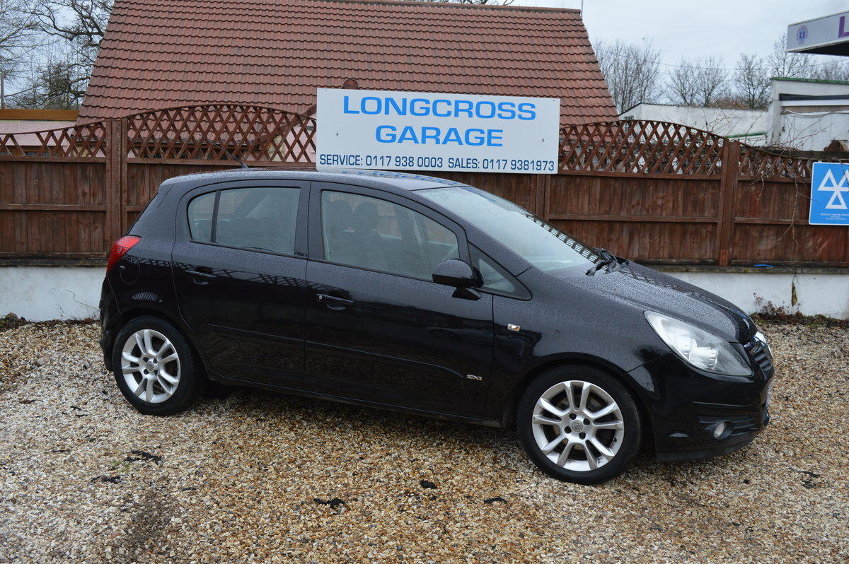 2008 Vauxhall Corsa 1.2 i 16v Design 5dr (a/c) PETROL MANUAL For Sale (picture 2 of 6)