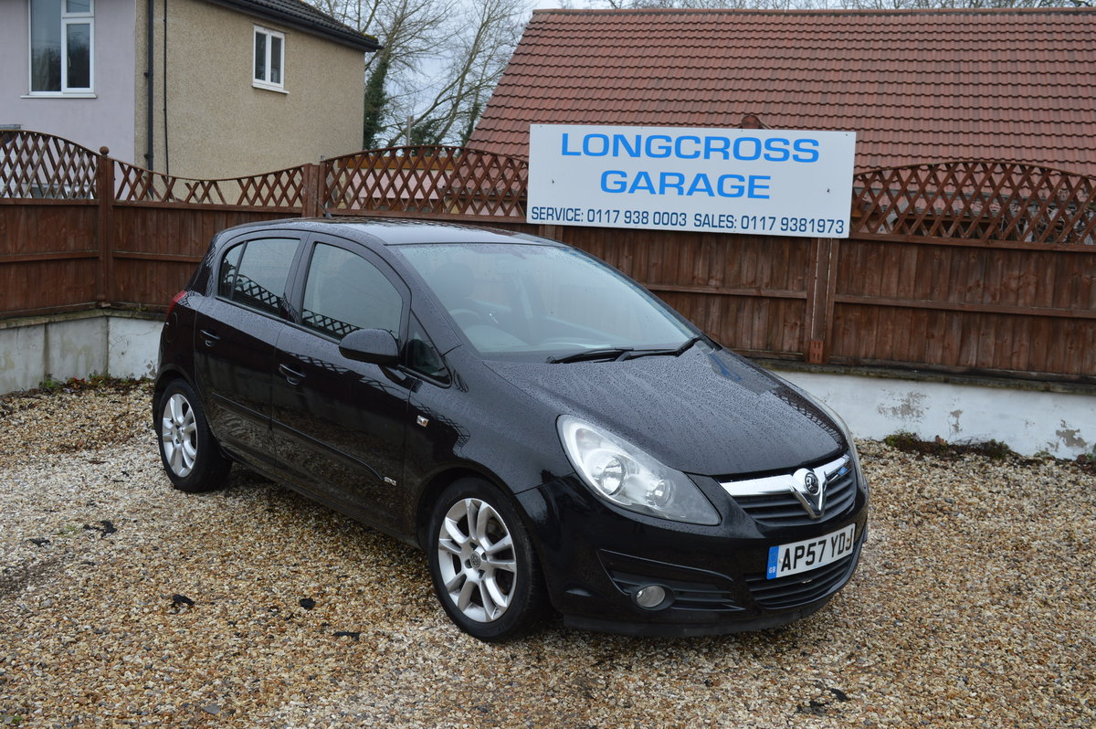 2008 Vauxhall Corsa 1.2 i 16v Design 5dr (a/c) PETROL MANUAL For Sale (picture 3 of 6)