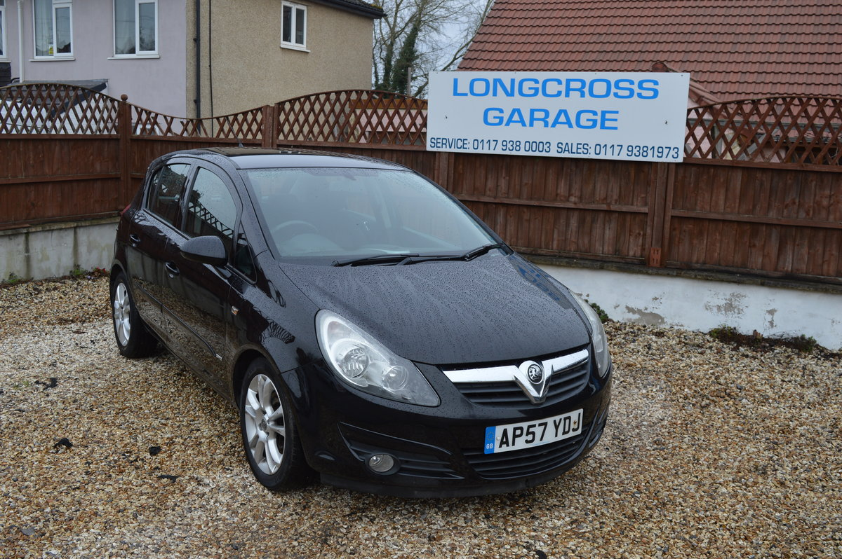 2008 Vauxhall Corsa 1.2 i 16v Design 5dr (a/c) PETROL MANUAL For Sale (picture 4 of 6)
