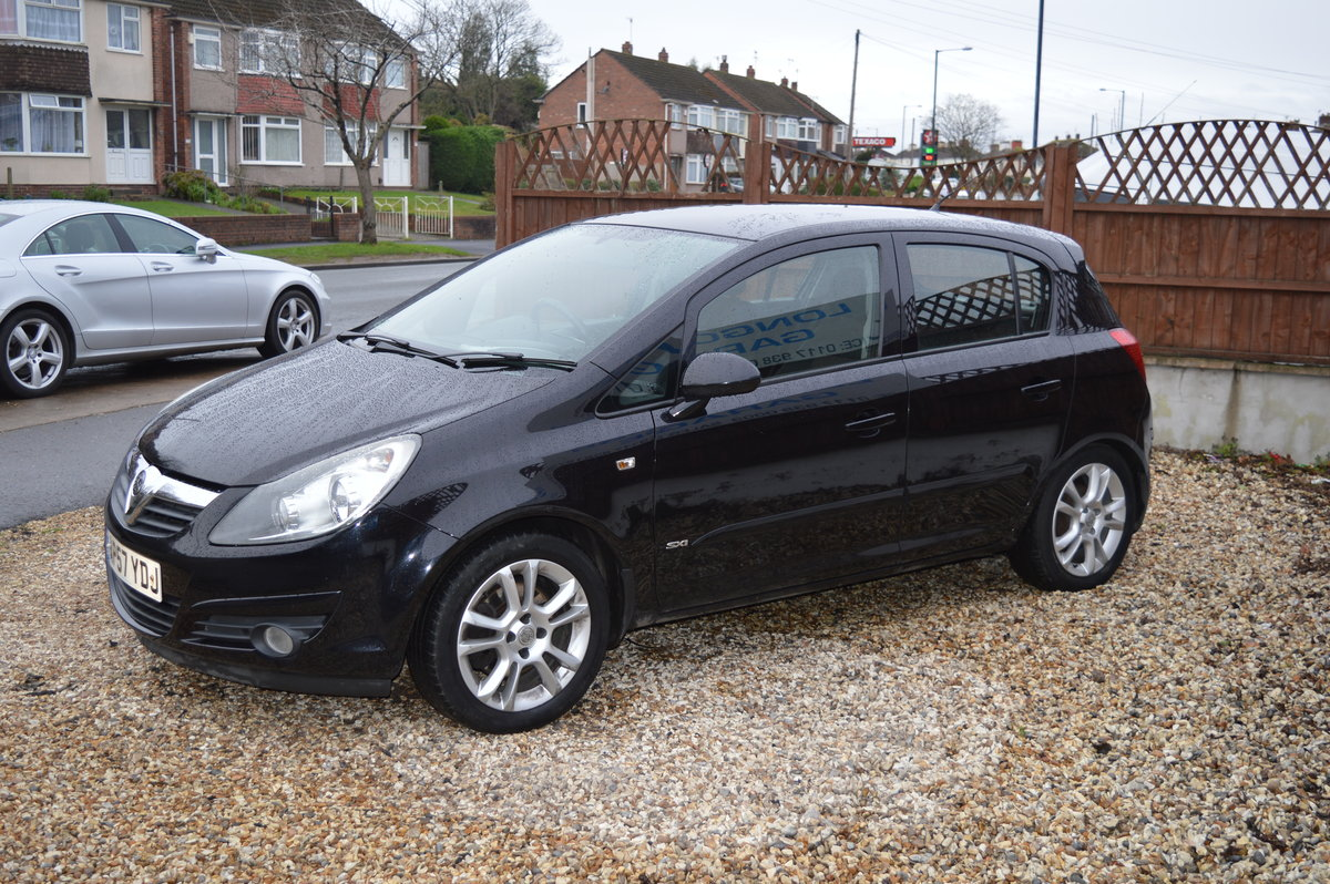 2008 Vauxhall Corsa 1.2 i 16v Design 5dr (a/c) PETROL MANUAL For Sale (picture 5 of 6)