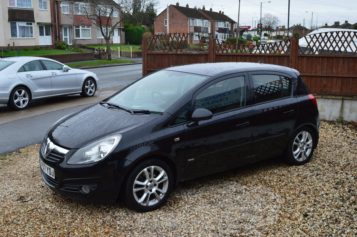 2008 Vauxhall Corsa 1.2 i 16v Design 5dr (a/c) PETROL MANUAL For Sale (picture 6 of 6)