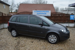 2010 VAUXHALL ZAFIRA 7 SEATER 1.6 LIFE 5 DOOR  For Sale