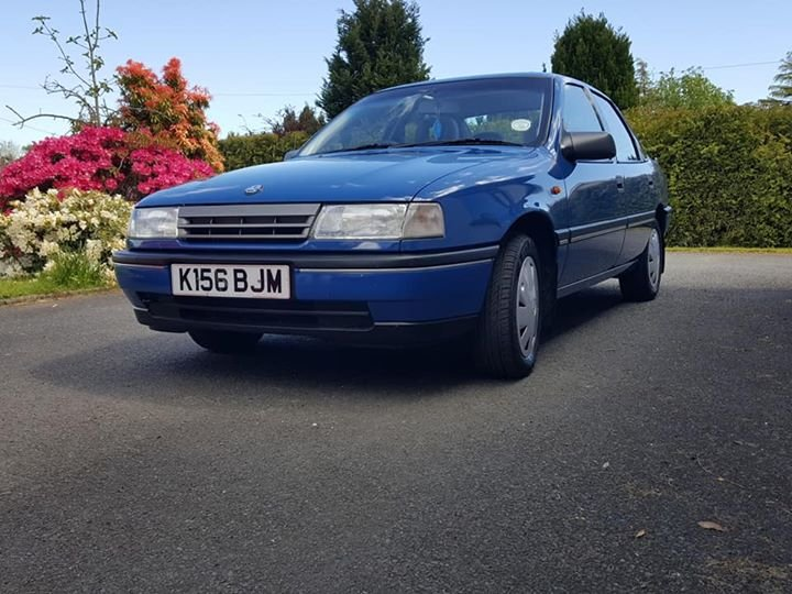 1992 Museum Quality 12900 MILES Vauxhall Cavalier For Sale (picture 1 of 6)