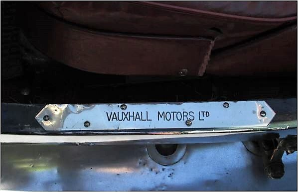 1926 Vauxhall bodied 14-40 tourer For Sale (picture 5 of 6)