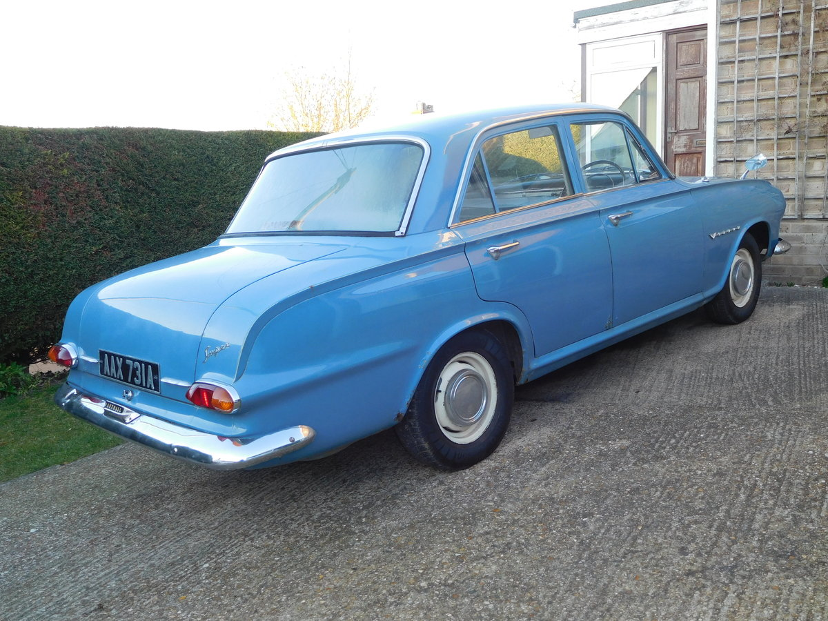 1963 VAUXHALL VICTOR FB 1500CC For Sale (picture 4 of 6)