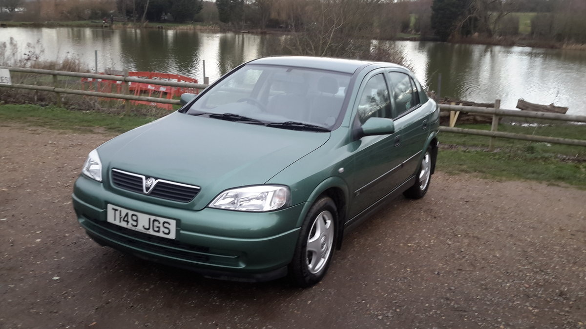 1999 Vauxhall astra 1.6 automatic 13000 miles one lady owner  SOLD (picture 1 of 6)