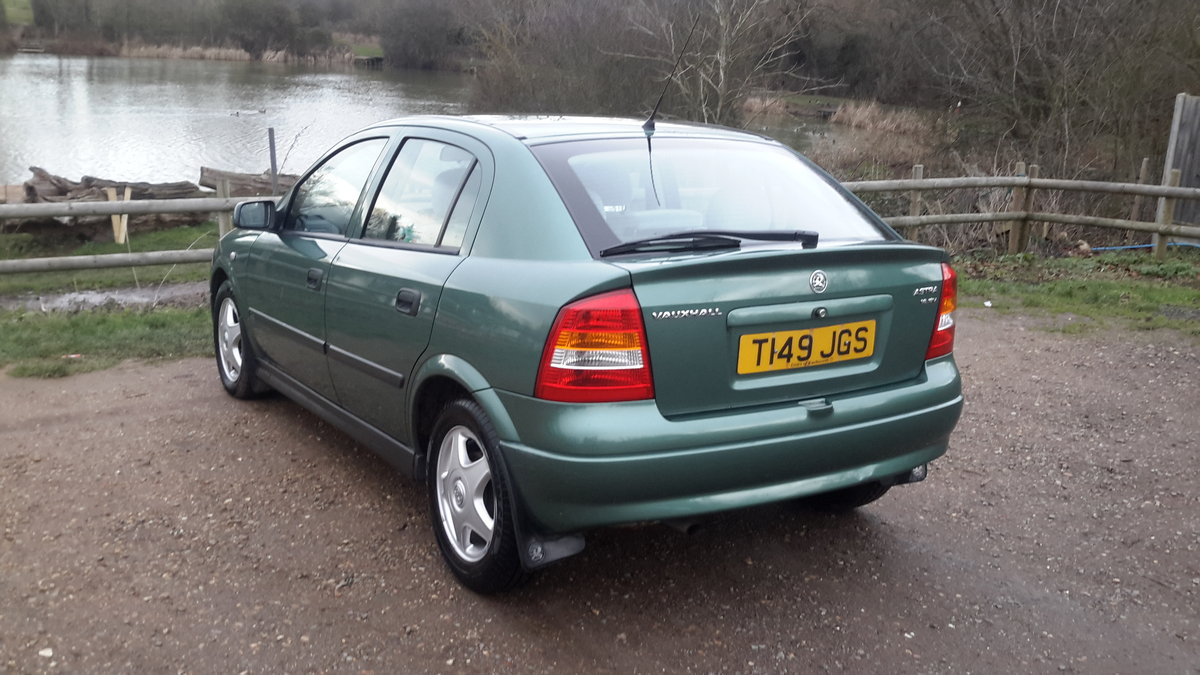 1999 Vauxhall astra 1.6 automatic 13000 miles one lady owner  SOLD (picture 5 of 6)