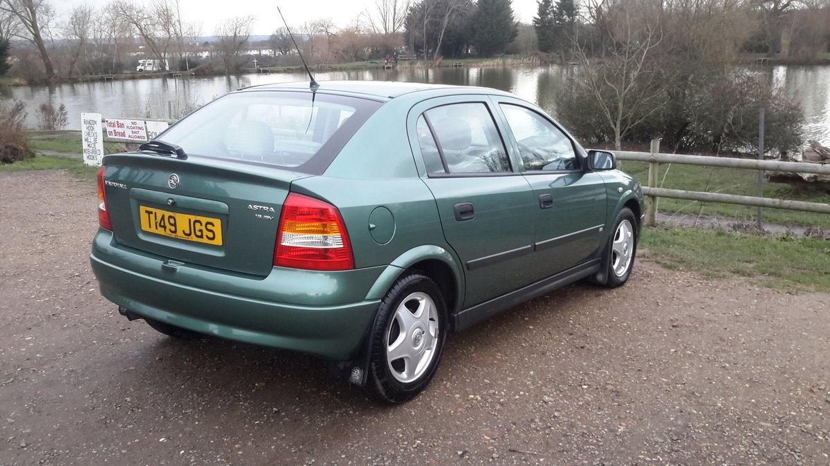 1999 Vauxhall astra 1.6 automatic 13000 miles one lady owner  SOLD (picture 6 of 6)