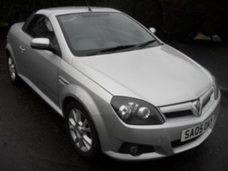 2005 Vauxhall Tigra Sport For Sale by Auction 23rd Feb SOLD by Auction (picture 1 of 6)