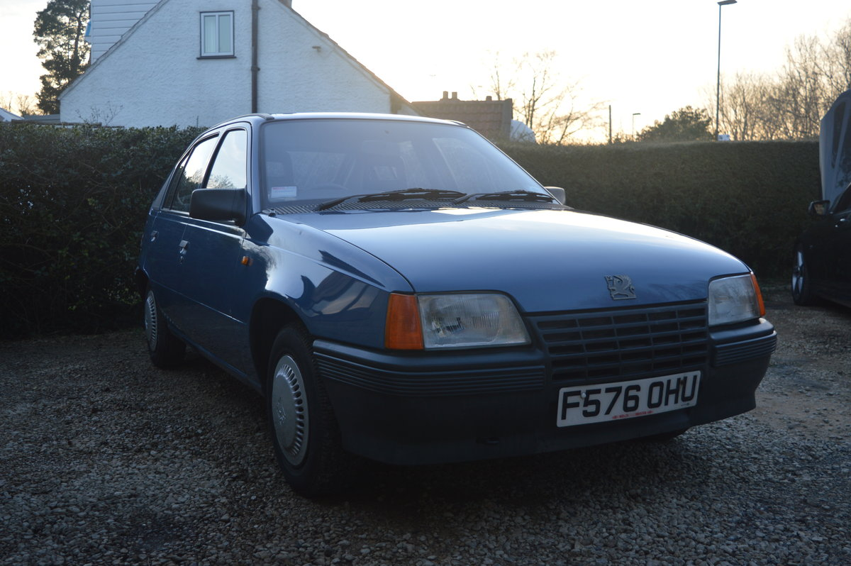 1988 Vauxhall Astra 1.2 SOLD (picture 2 of 6)