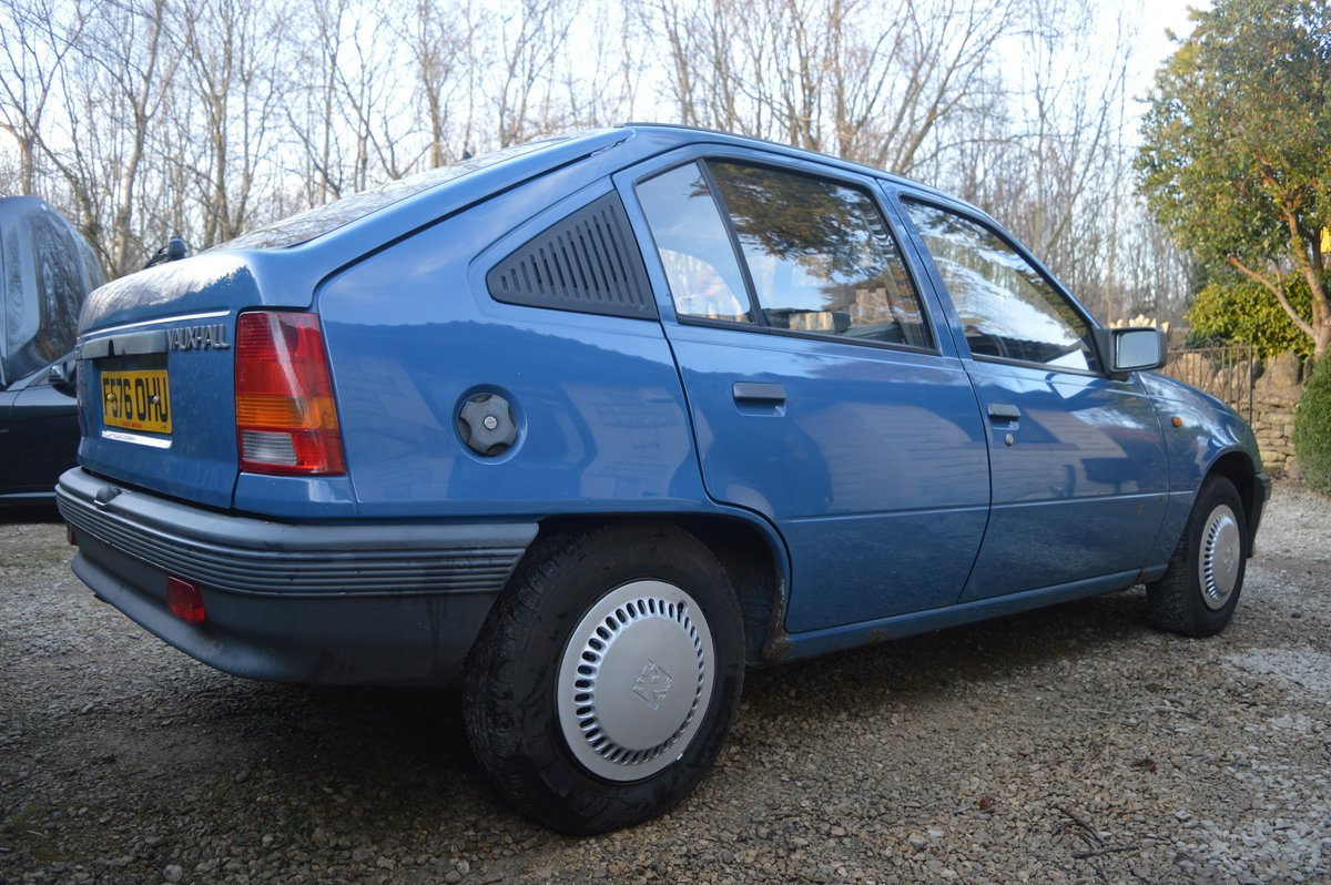 1988 Vauxhall Astra 1.2 SOLD (picture 3 of 6)