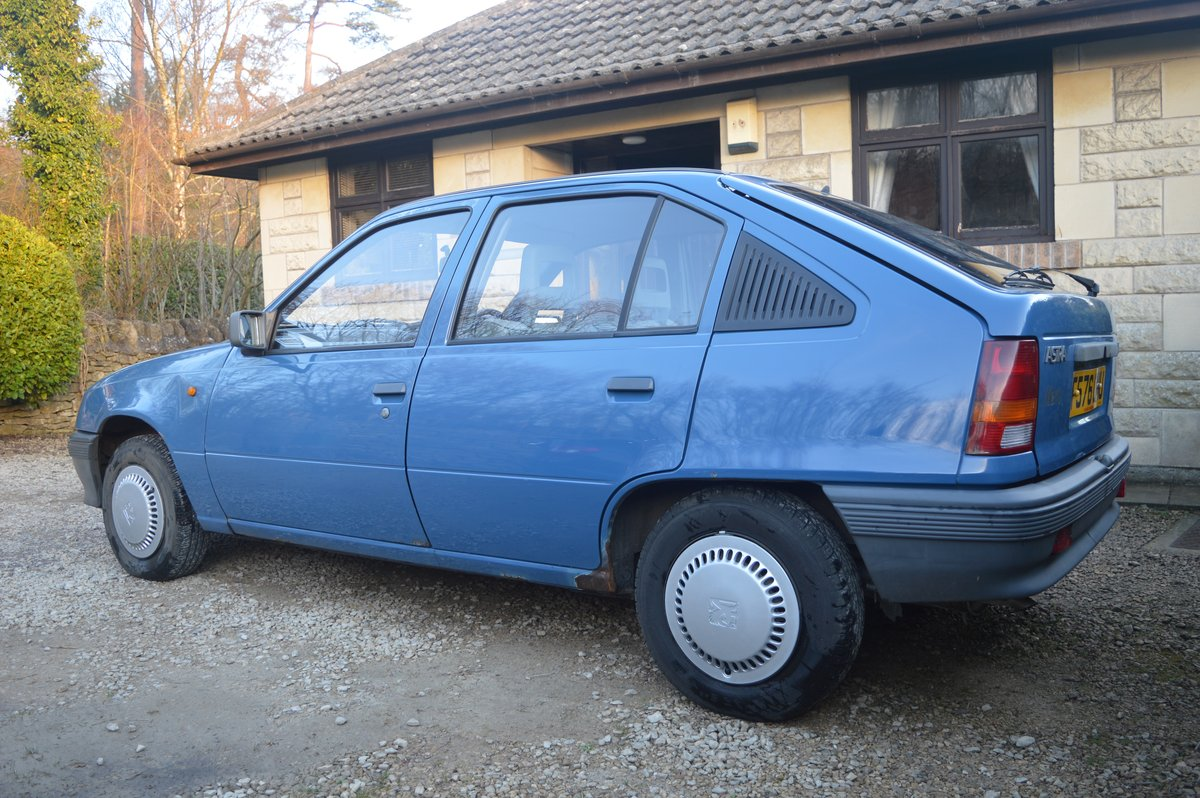 1988 Vauxhall Astra 1.2 SOLD (picture 4 of 6)