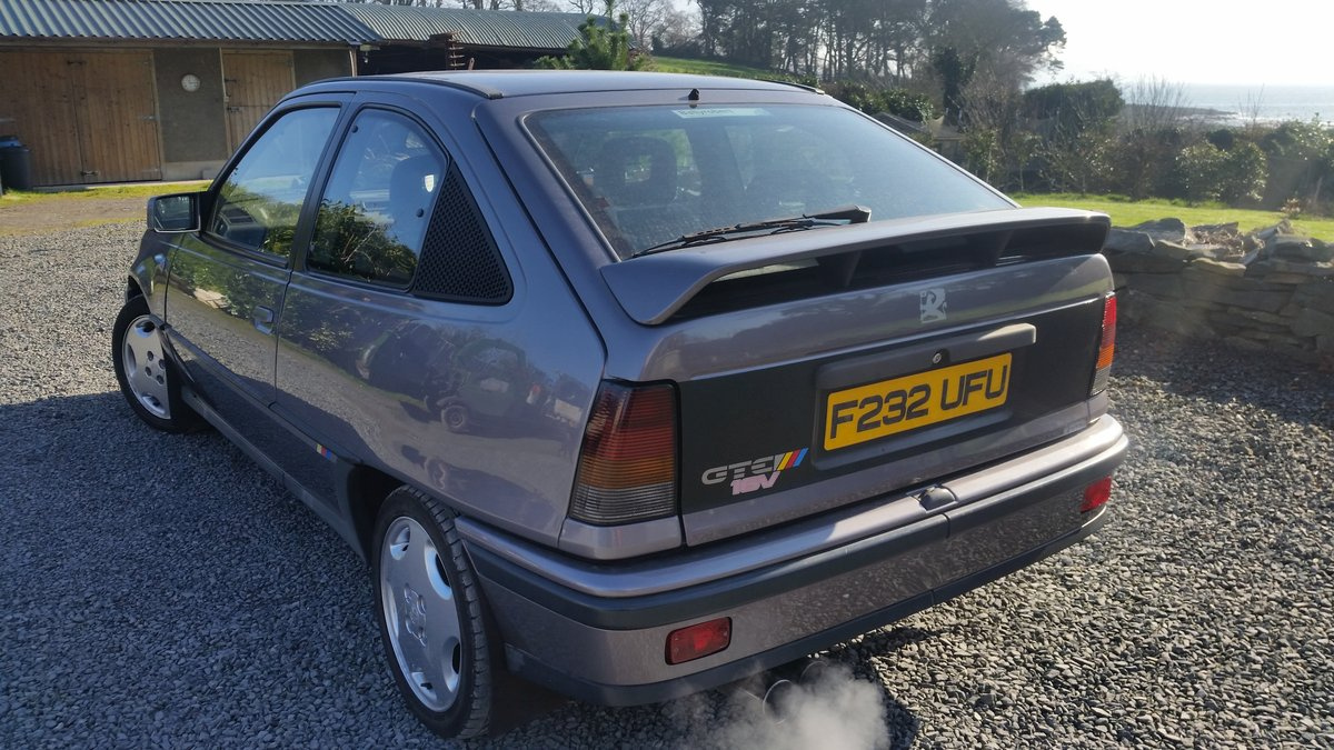 1989 Very clean vauxhall astra gte 16v For Sale (picture 3 of 4)
