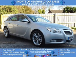 2011/61 Vauxhall Insignia 2.0CDTi 16v SRi Nav (160ps) AUTO For Sale