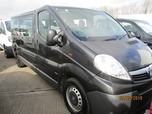 EX MOD NEEDS REGISTERING 9 SEAT MINI BUS DECEMBER 2012 CLEAN For Sale