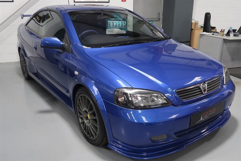 2002 Vauxhall Astra Triple 888 2.0i 16v Turbo Coupe For Sale (picture 1 of 6)