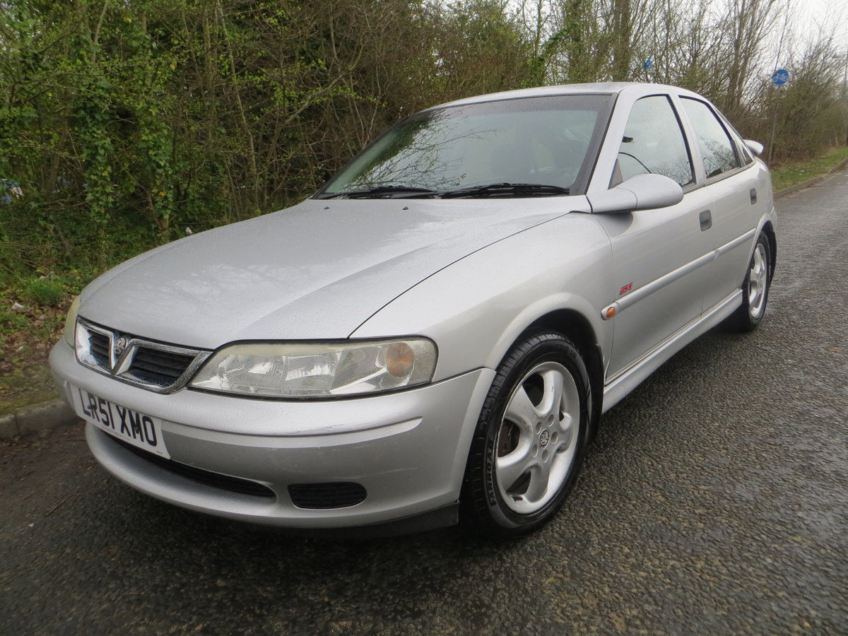 2001 Vauxhall Vectra SXI the only one for sale in the UK!!!!! SOLD (picture 1 of 6)